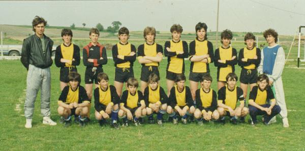 Ο Βασίλης τερματοφύλακας της παιδικής ομάδας του ΑΟΚ